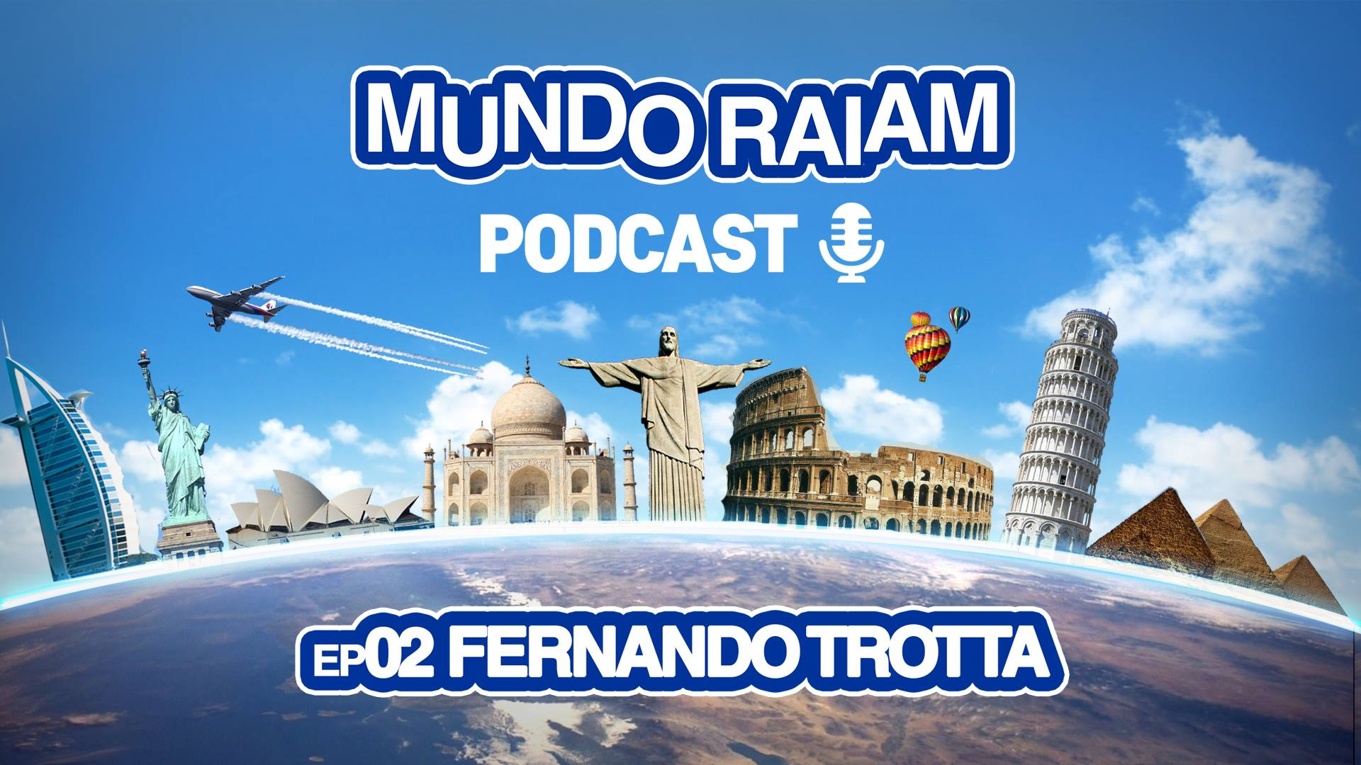 MundoRaiam Podcast EP02: Fernando Trotta